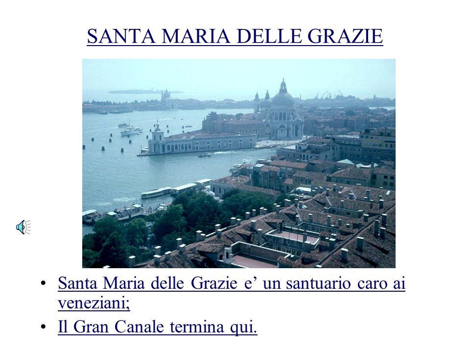 FINE DEL GRAN CANALE La Giudecca e una parte vecchia di Venezia; e una delle lunghe isoleLa Giudecca e una parte vecchia di Venezia; e una delle lungh
