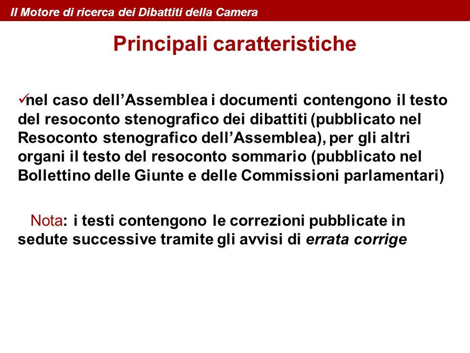 nel caso dellAssemblea i documenti contengono il testo del resoconto stenografico dei dibattiti (pubblicato nel Resoconto stenografico dellAssemblea),