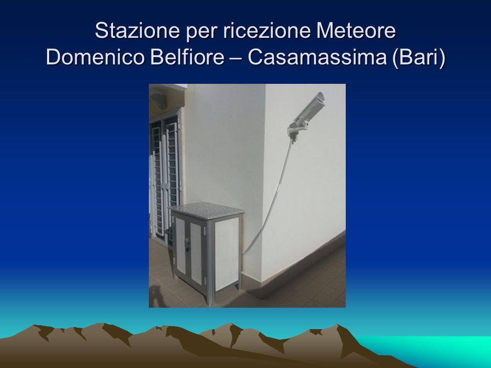 Stazione per ricezione Meteore Domenico Belfiore – Casamassima (Bari)