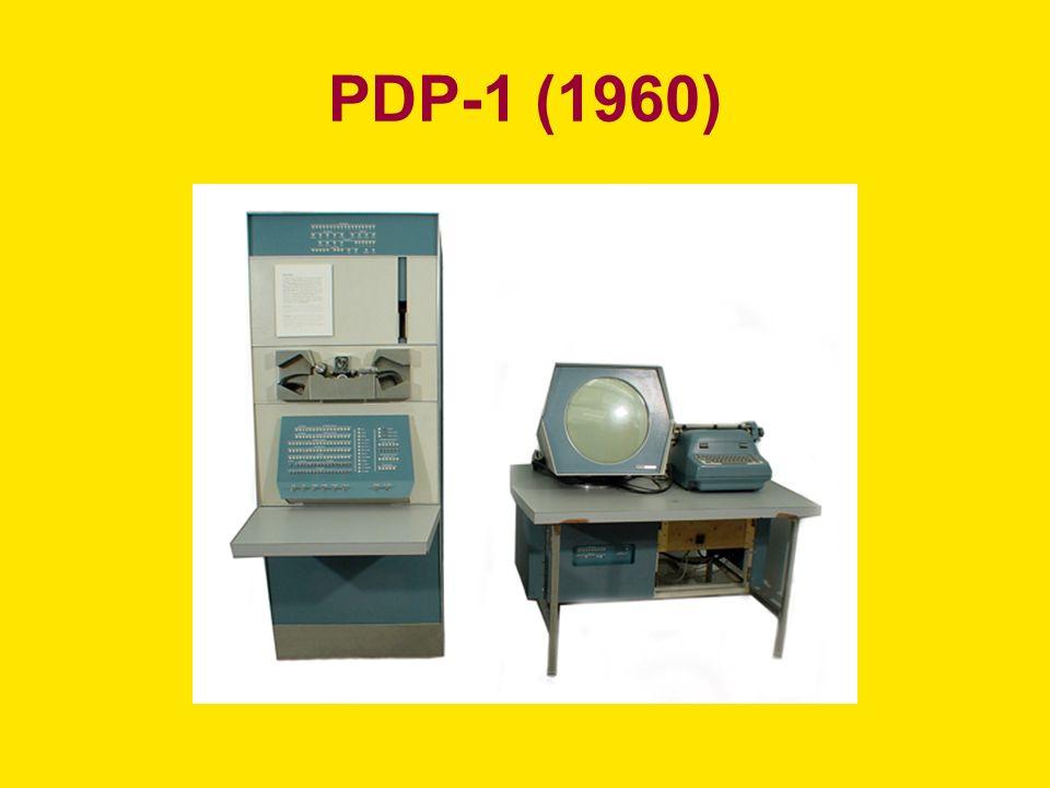PDP-1 (1960)