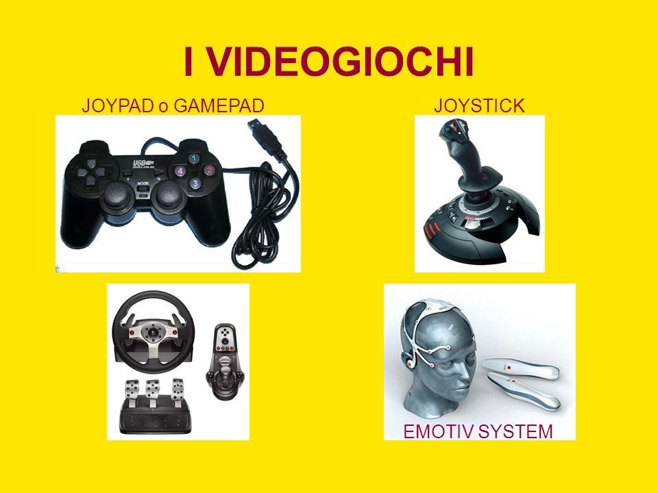 I VIDEOGIOCHI JOYPAD o GAMEPADJOYSTICK EMOTIV SYSTEM