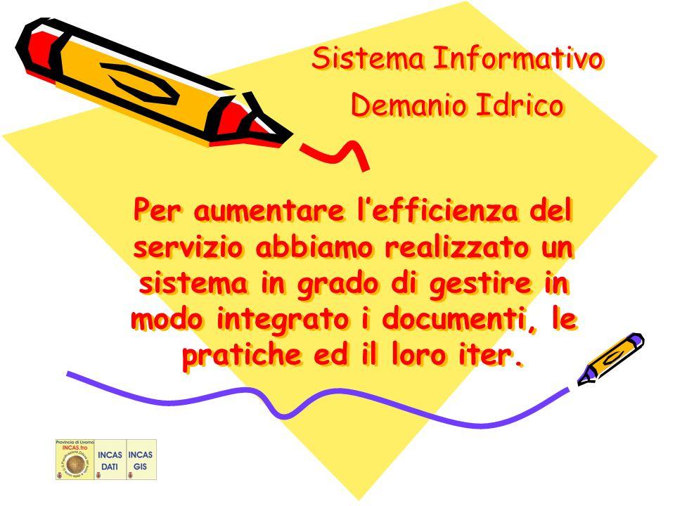 Per aumentare lefficienza del servizio abbiamo realizzato un sistema in grado di gestire in modo integrato i documenti, le pratiche ed il loro iter.