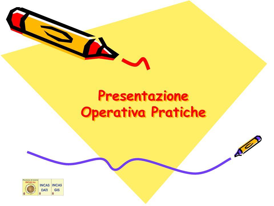 Presentazione Operativa Pratiche