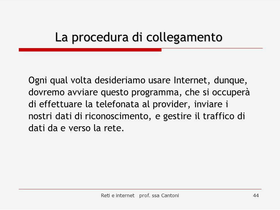 Reti e internet prof.