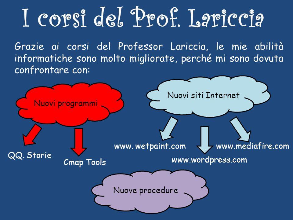 I corsi del Prof.