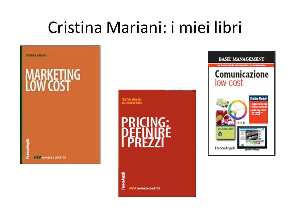 Cristina Mariani: i miei libri