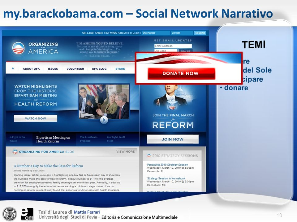 10 my.barackobama.com – Social Network Narrativo