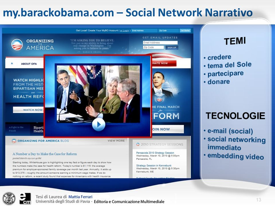 13 my.barackobama.com – Social Network Narrativo