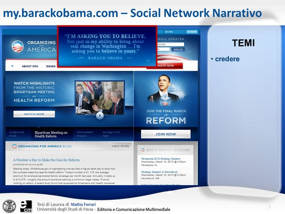 7 my.barackobama.com – Social Network Narrativo