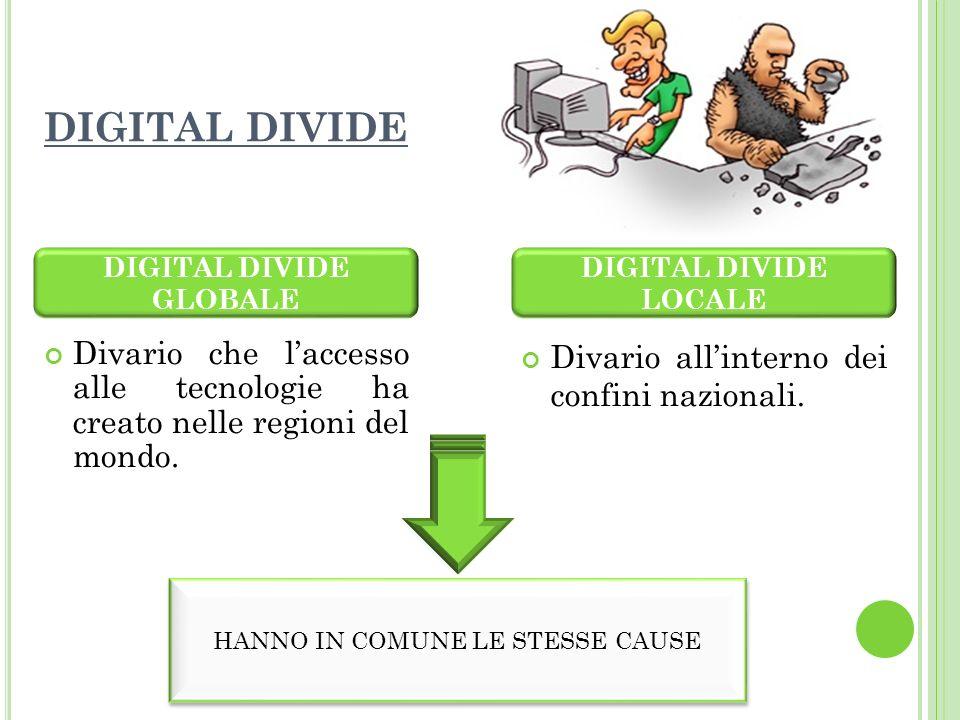 LItalia risulta ancora un Paese profondamente indietro rispetto agli altri Stati europei: ancora il 2% della popolazione italiana soffre il Digital Divide