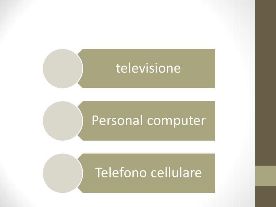 televisione Personal computer Telefono cellulare