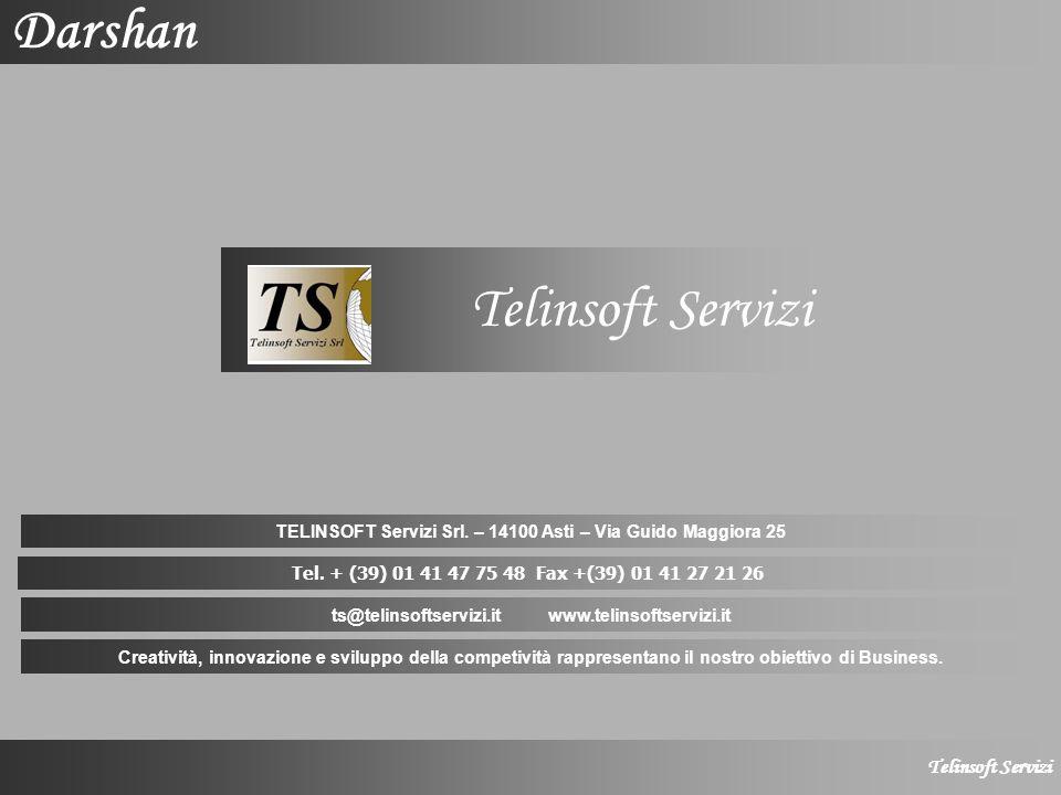 Telinsoft Servizi Darshan Telinsoft Servizi TELINSOFT Servizi Srl.