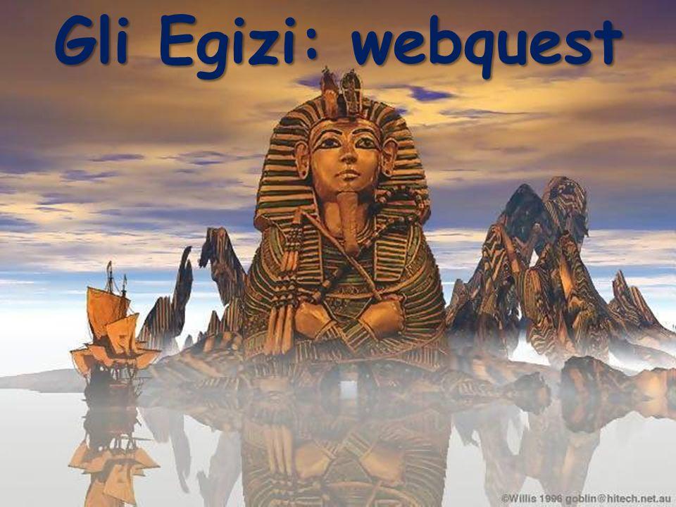 Gli Egizi: webquest