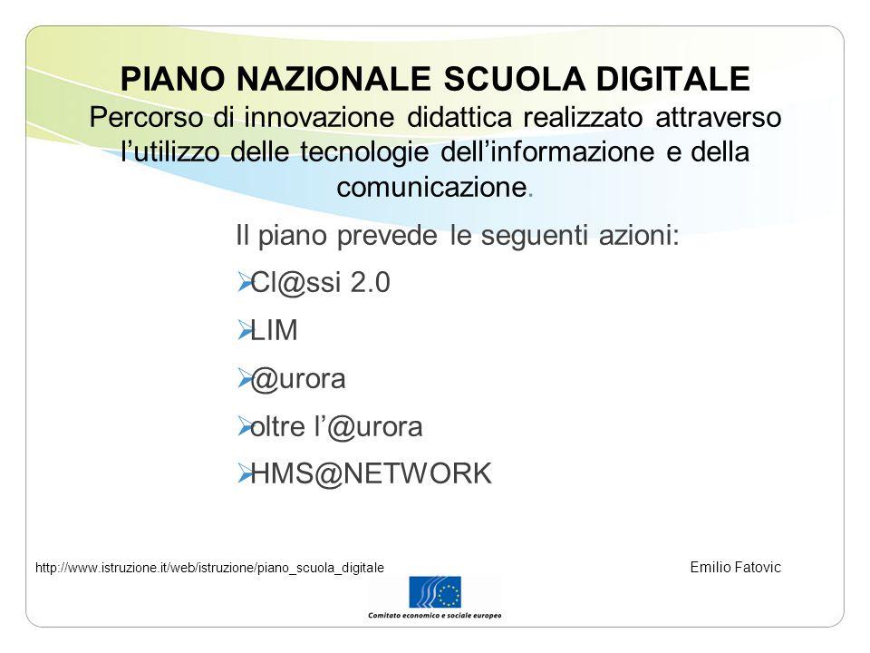 PIANO NAZIONALE SCUOLA DIGITALE Percorso di innovazione didattica realizzato attraverso lutilizzo delle tecnologie dellinformazione e della comunicazione.
