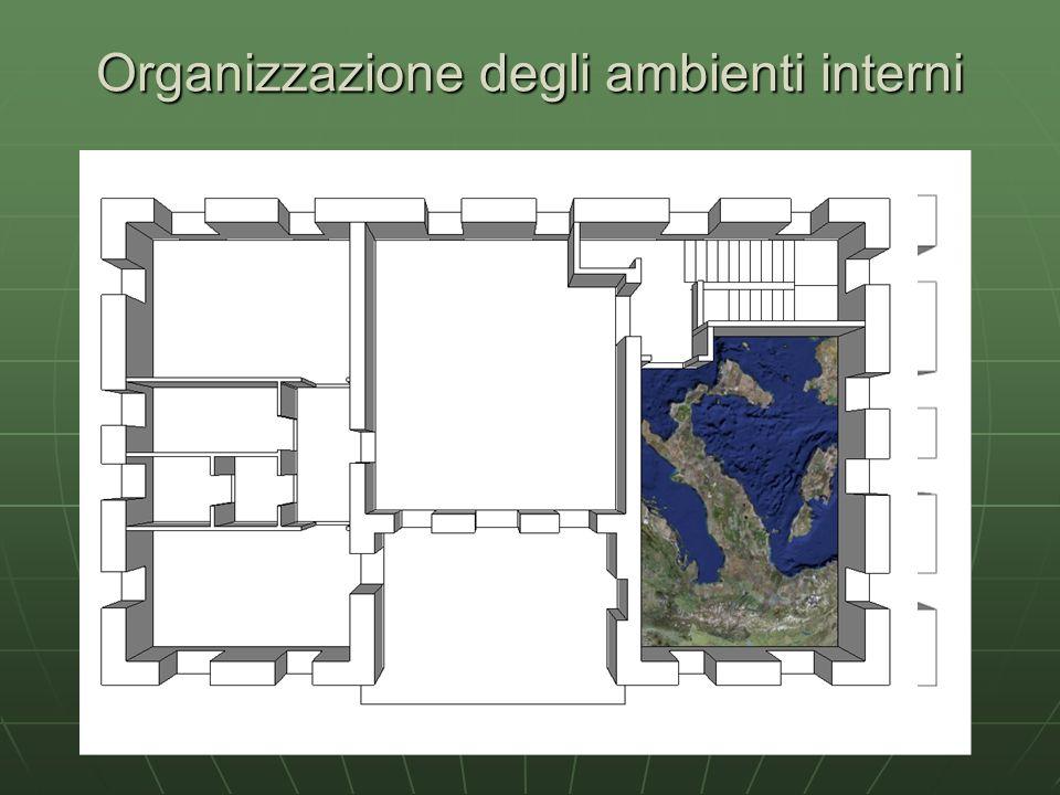 Organizzazione degli ambienti interni
