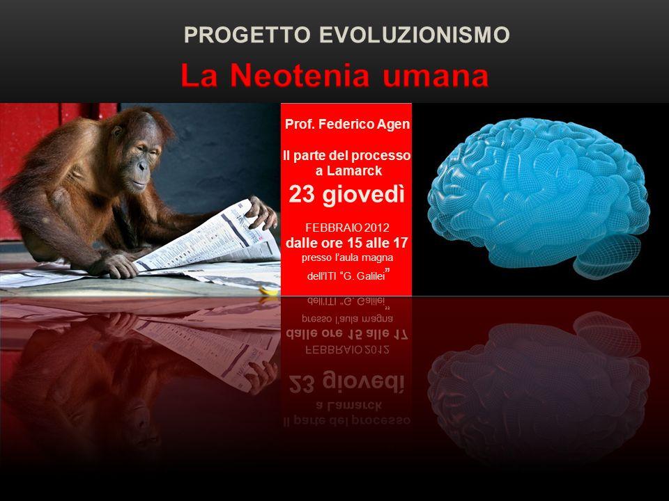 PROGETTO EVOLUZIONISMO