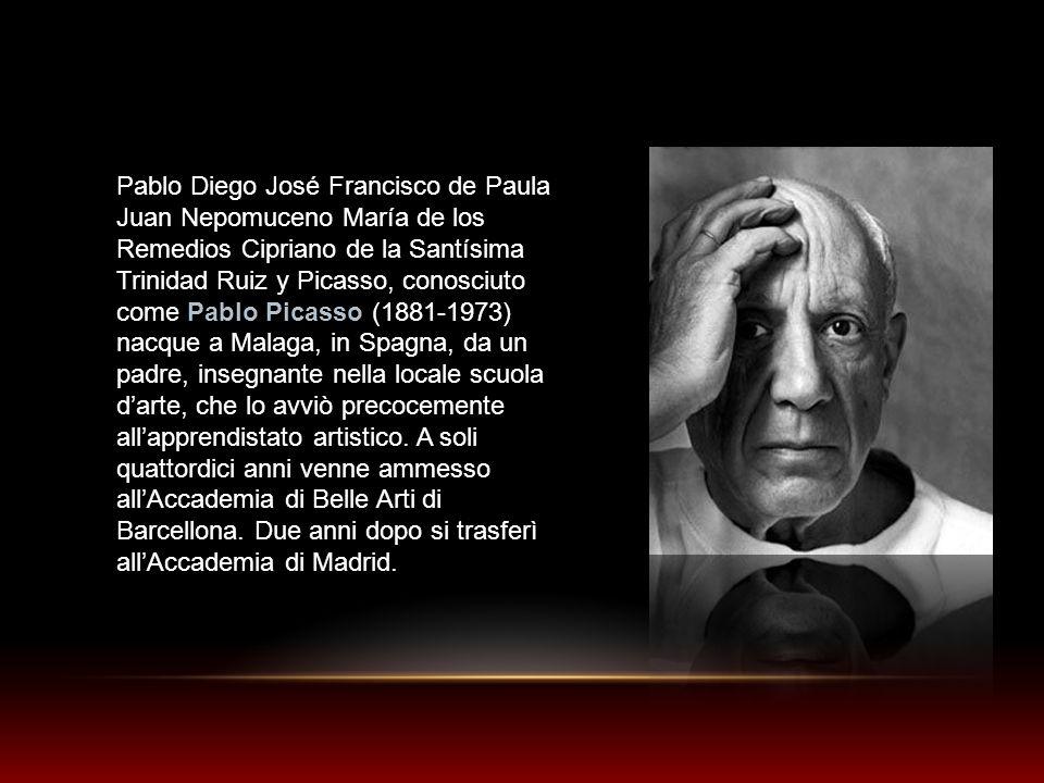 Pablo Diego José Francisco de Paula Juan Nepomuceno María de los Remedios Cipriano de la Santísima Trinidad Ruiz y Picasso, conosciuto come Pablo Pica