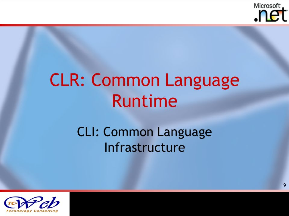 10 Common Language Runtime