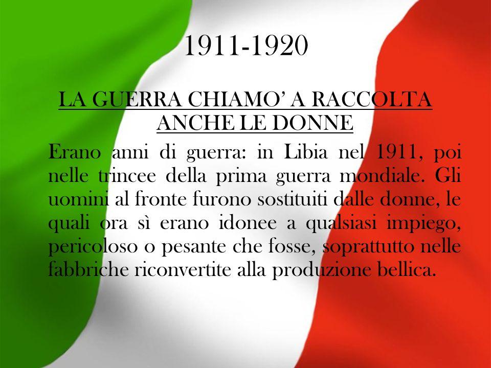 1921-1930 ITALIANI SEMPRE PIU ISTRUITI E MECCANIZZATI Negli anni che videro affermarsi il fascismo lItalia, nonostante lindustrializzazione del nord, era al 50% ancora agricola.