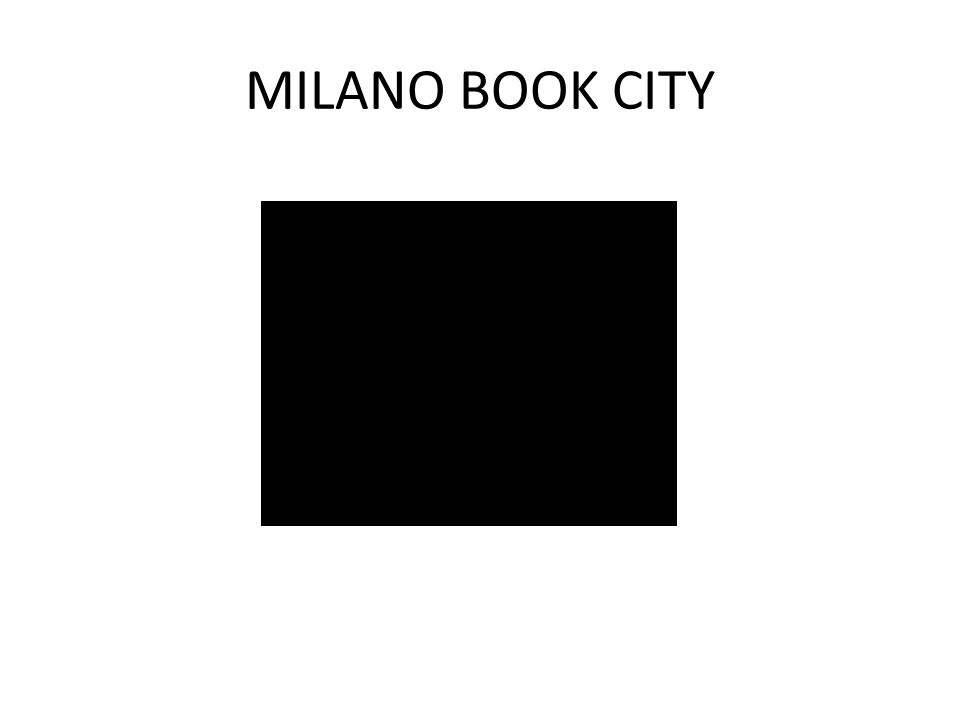 MILANO BOOK CITY