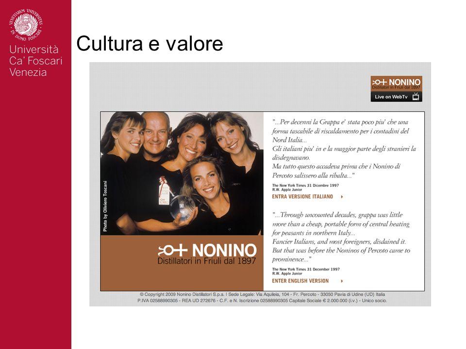 Cultura e valore