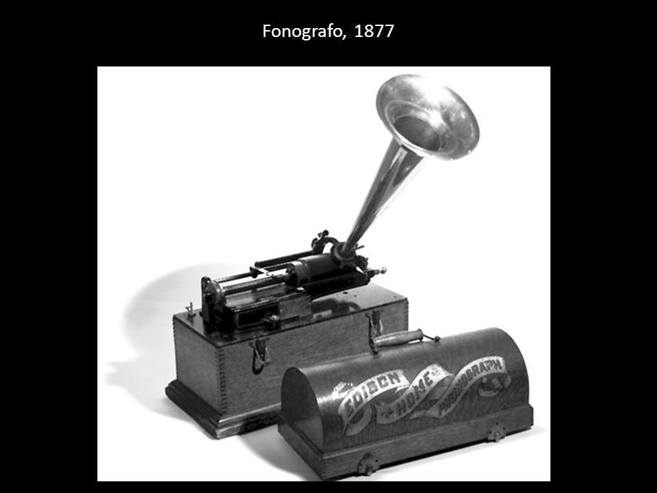 Fonografo, 1877