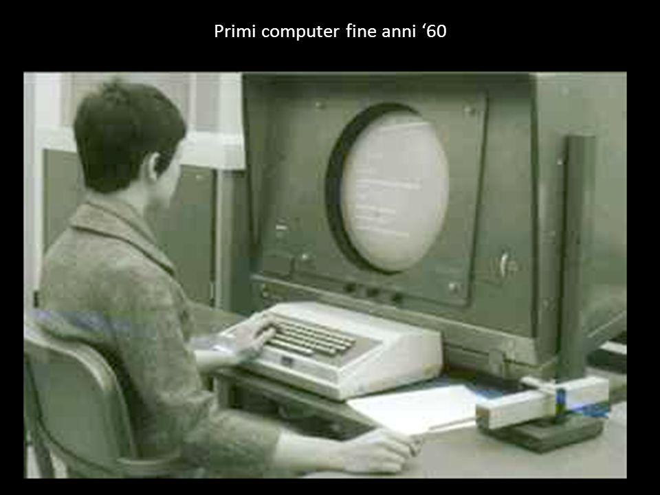 Primi computer fine anni 60
