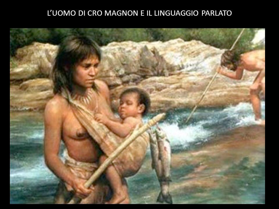 LUOMO DI CRO MAGNON E IL LINGUAGGIO PARLATO