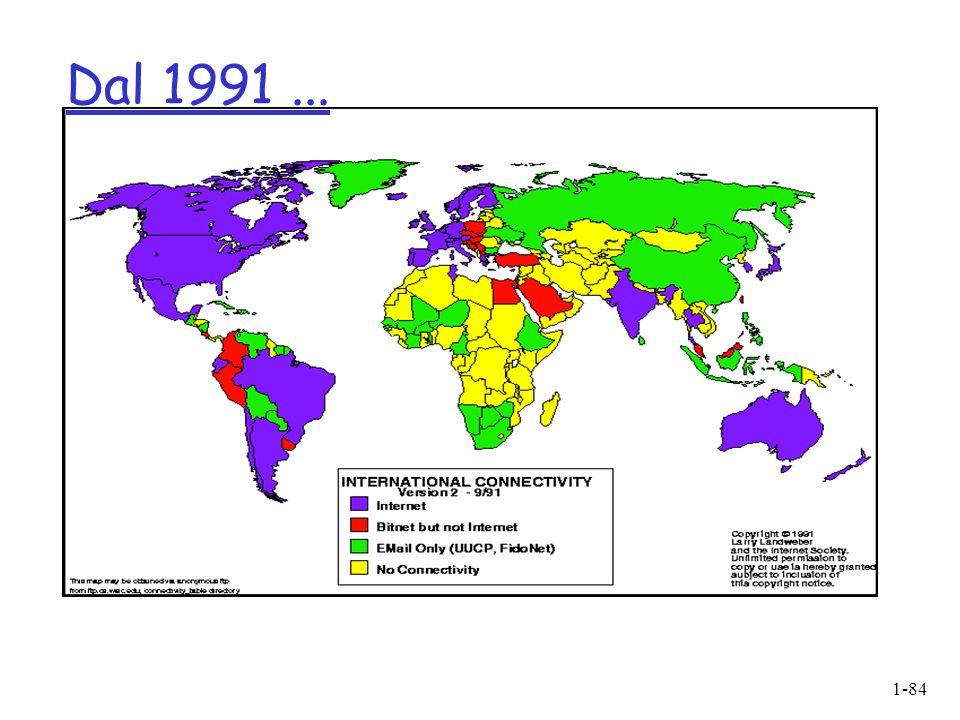 1-84 Dal 1991...