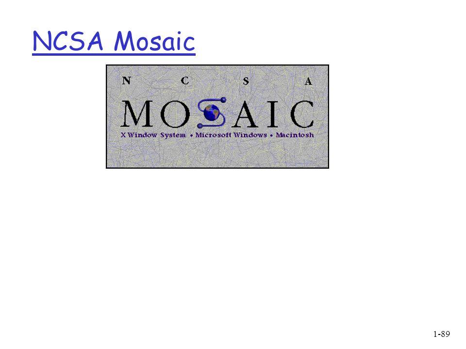1-89 NCSA Mosaic