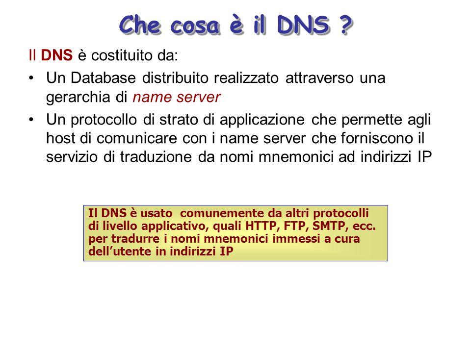 Che cosa è il DNS .