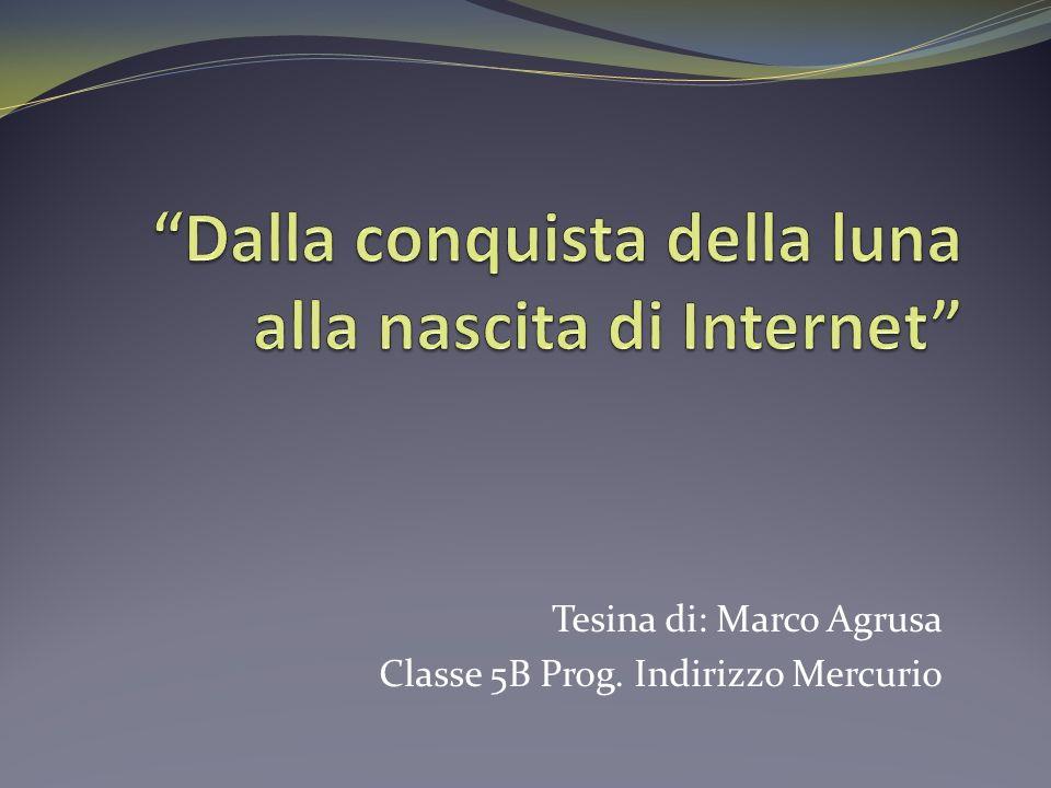 Tesina di: Marco Agrusa Classe 5B Prog. Indirizzo Mercurio