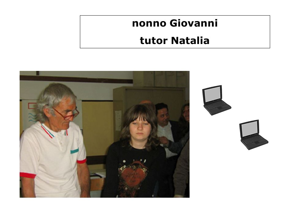 nonna Donata e nonna Antonina tutor Emiliano e Lorenzo