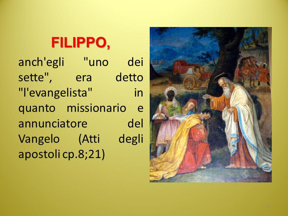 FILIPPO, anch'egli