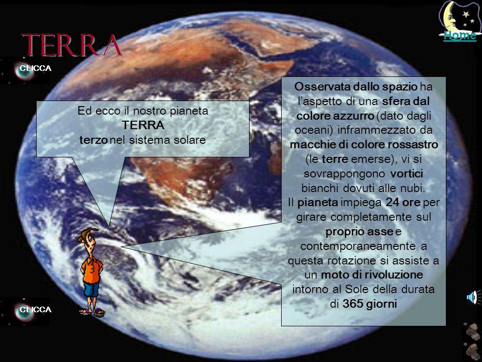 Venere Ciao, questa è VENERE Il secondo pianeta del SISTEMA SOLARE. E' il più simile alla Terra, possiede un' atmosfera molto densa composta al 97% di