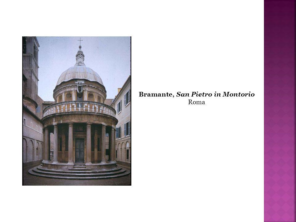 Bramante, San Pietro in Montorio Roma