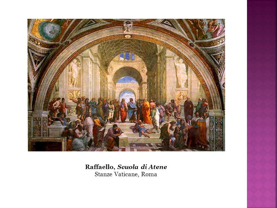 Raffaello, Scuola di Atene Stanze Vaticane, Roma