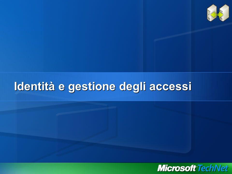 Identità e gestione degli accessi