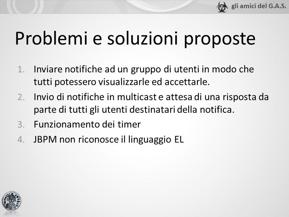 Problemi e soluzioni proposte 1.