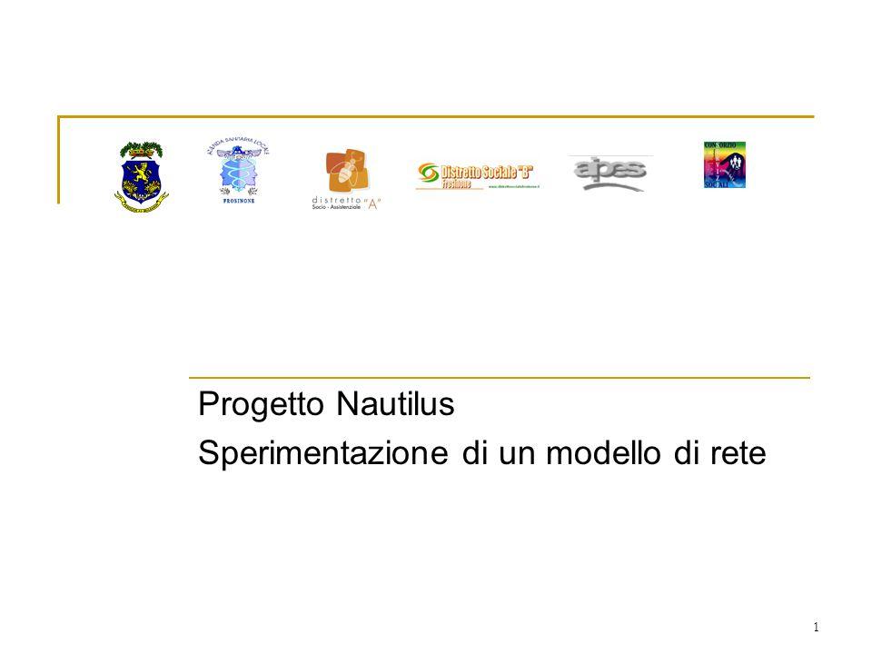 1 Progetto Nautilus Sperimentazione di un modello di rete