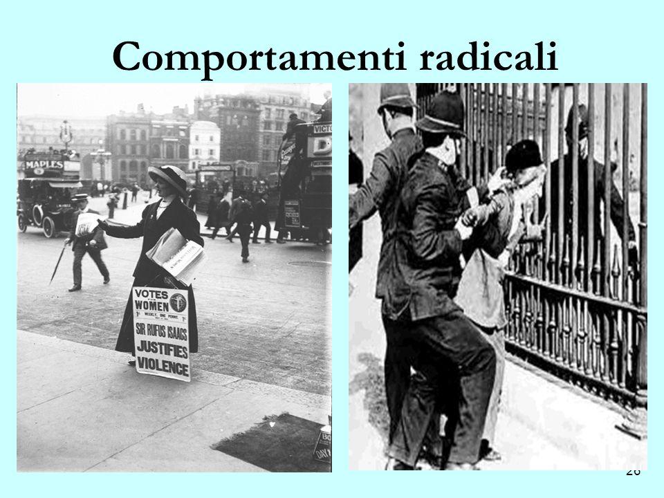 26 Comportamenti radicali