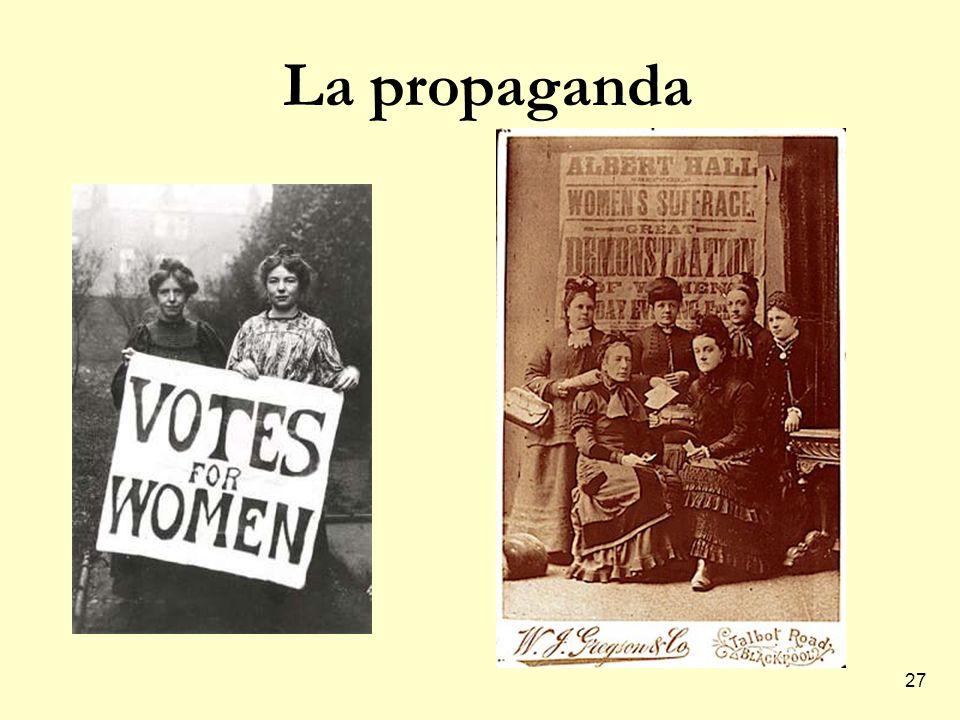 27 La propaganda