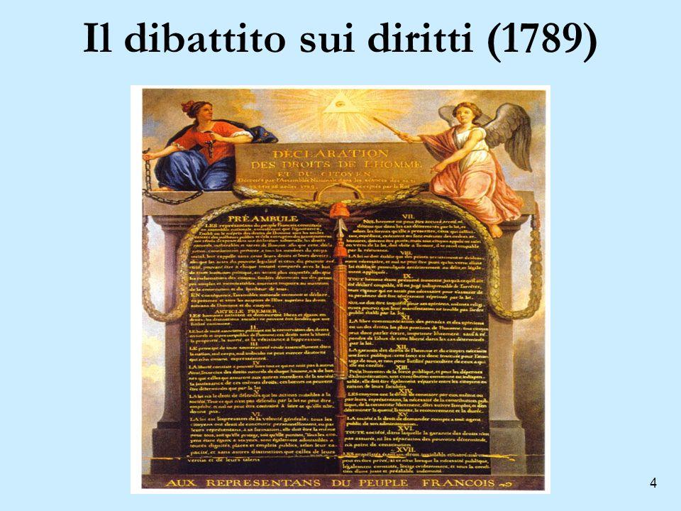 4 Il dibattito sui diritti (1789)