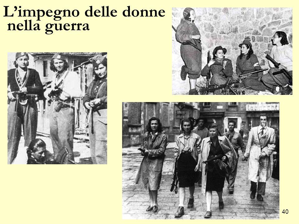 40 L'impegno delle donne nella guerra