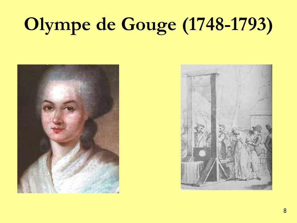 8 Olympe de Gouge (1748-1793)