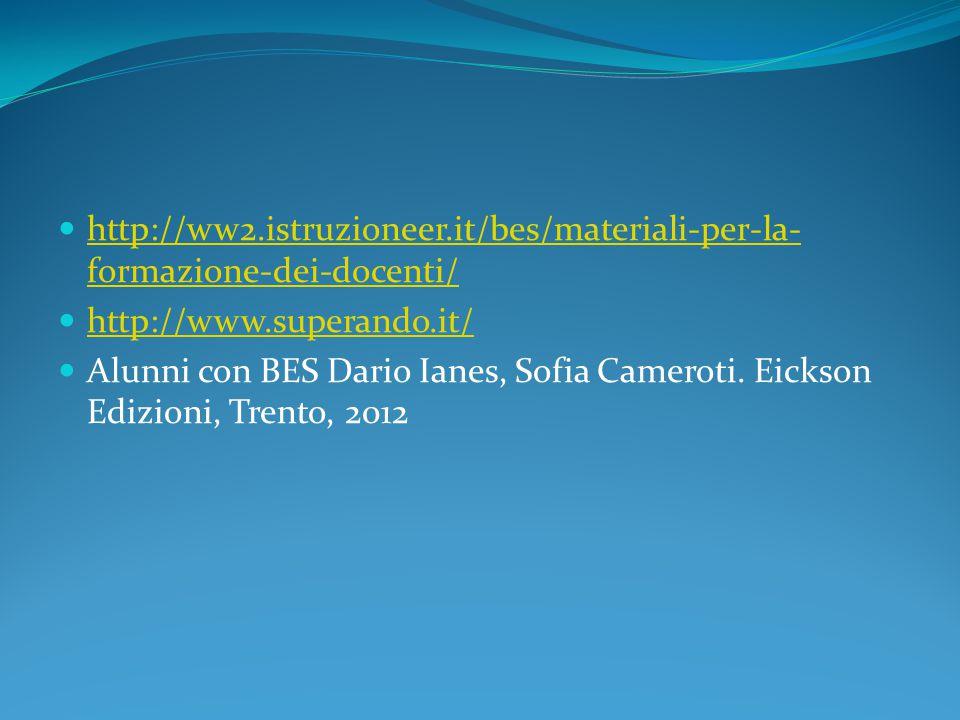 http://ww2.istruzioneer.it/bes/materiali-per-la- formazione-dei-docenti/ http://ww2.istruzioneer.it/bes/materiali-per-la- formazione-dei-docenti/ http