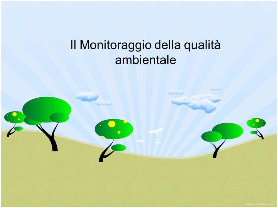 Il Monitoraggio della qualità ambientale