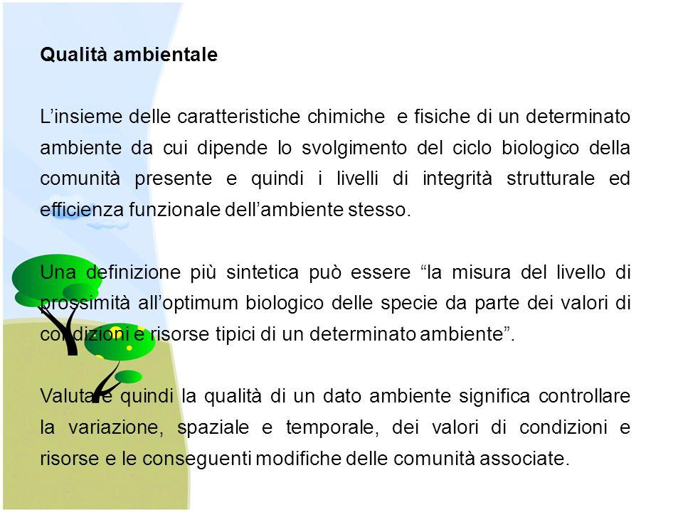 Indicatori biologici C ed N associati alla biomassa microbica, N potenzialmente mineralizzabile, respirazione del suolo, morfotipi della fauna edafica.