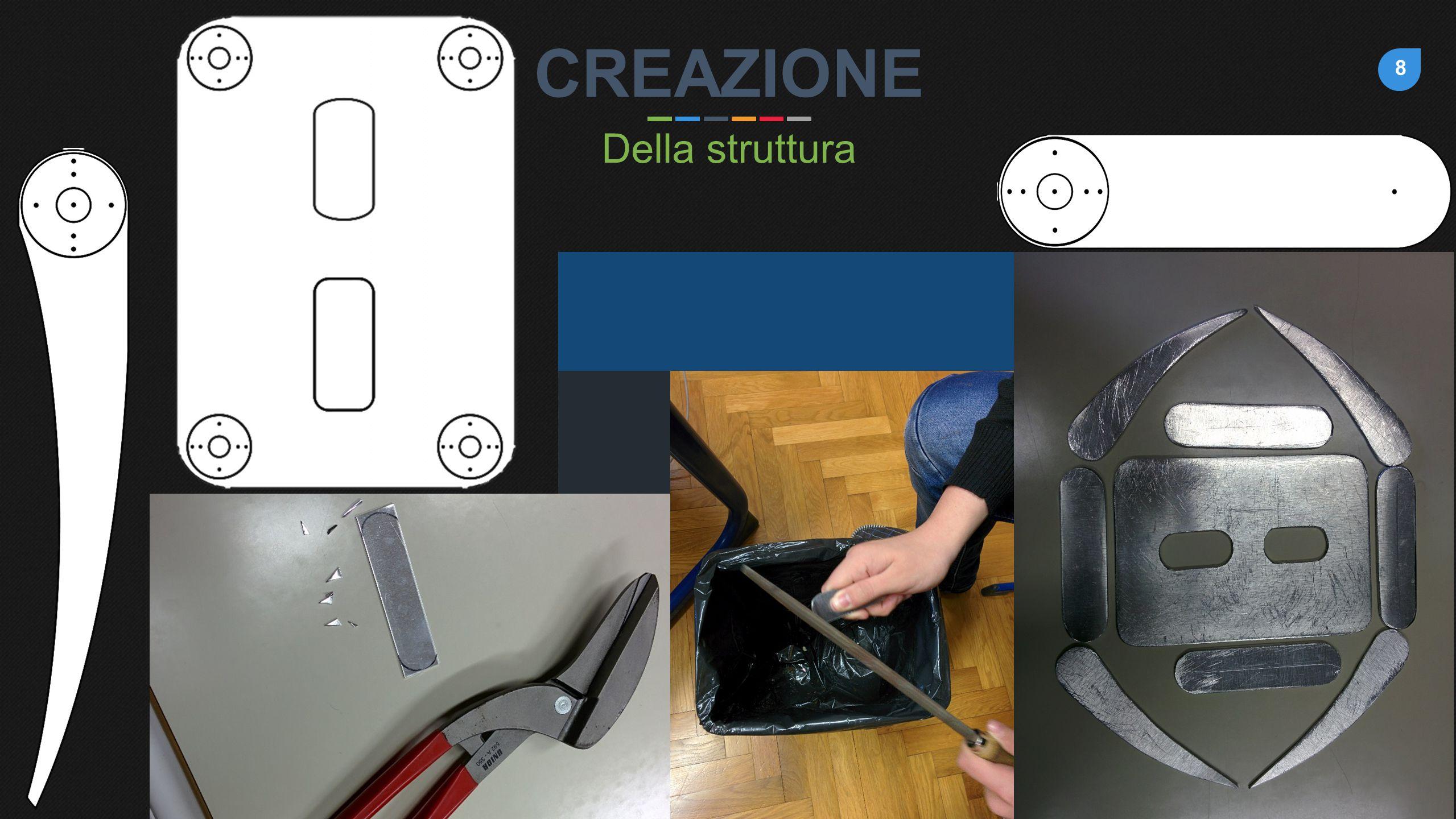 8 CREAZIONE Della struttura