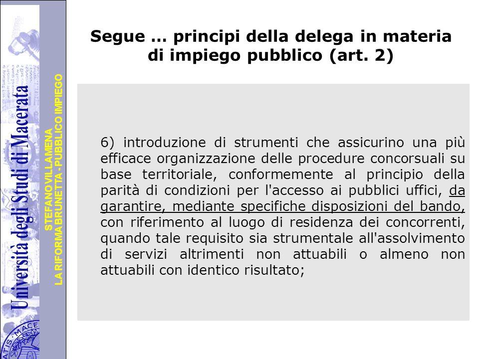Università degli Studi di Perugia LA RIFORMA BRUNETTA - PUBBLICO IMPIEGO STEFANO VILLAMENA Principi in materia di sanzioni disciplinari e responsabilità dei dipendenti pubblici - art.